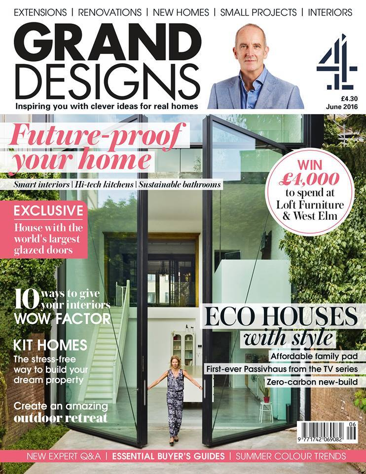 Grand Designs magazine June 2016 issue