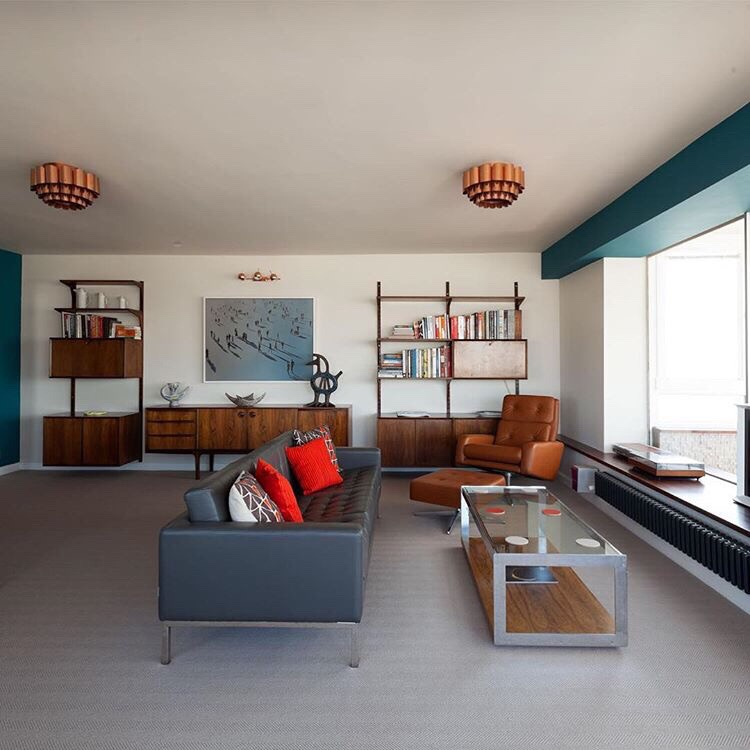 The Mid-century apartment