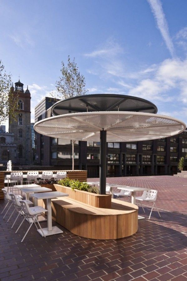 Barbican Outdoor Seating