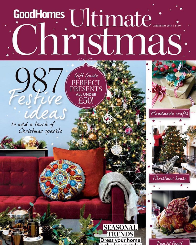Club sofa features in Good Home Magazine – Ultimate Christmas special edition
